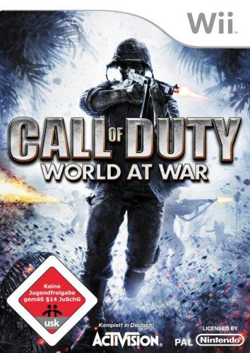 Call of Duty 5 - World at War Nintendo Wii artwork