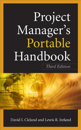 Project Managers Portable Handbook  3rd 2011 (Revised) edition cover