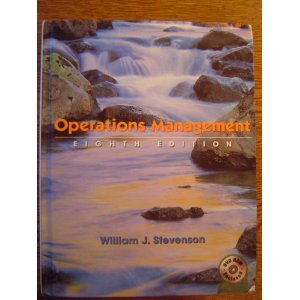 Operations Management  8th 2005 edition cover