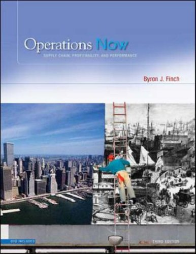 Operations Now Supply Chain Profitability and Performance with Student DVD 3rd 2008 (Revised) edition cover