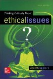 Thinking Critically about Ethical Issues  9th 2015 edition cover