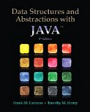 Data Structures and Abstractions with Java  4th 2015 9780133744057 Front Cover