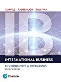 International Business:   2017 9780134200057 Front Cover
