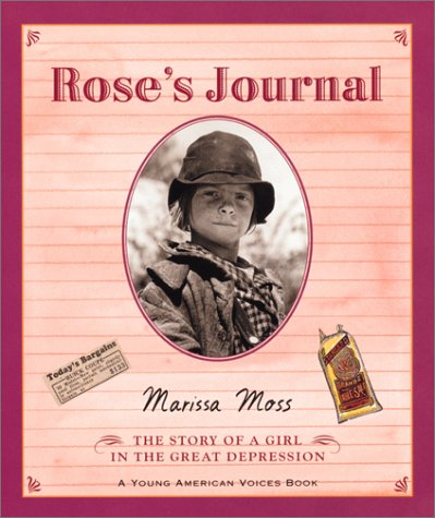 Rose's Journal The Story of a Girl in the Great Depression  2001 edition cover