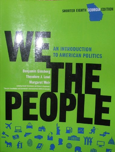 WE THE PEOPLE,GEORGIA ED.(CLOT N/A edition cover