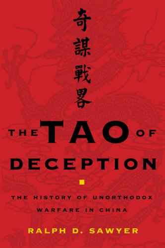 Tao of Deception Unorthodox Warfare in Historic and Modern China  2007 edition cover