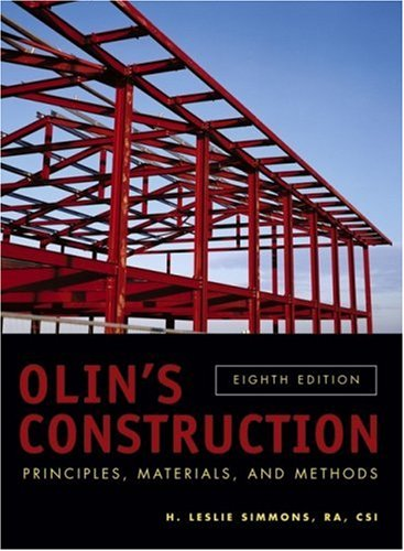 Olin's Construction Principles, Materials, and Methods 8th 2007 (Revised) edition cover