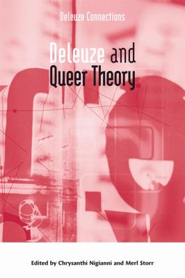 Deleuze and Queer Theory   2009 9780748634057 Front Cover