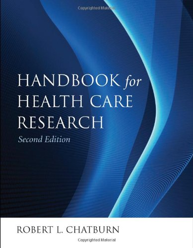 Handbook for Health Care Research  2nd 2011 (Revised) 9780763778057 Front Cover