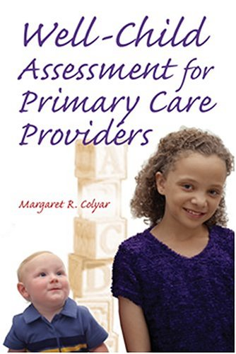 Well Child Assessment for Primary Care Providers   2003 edition cover