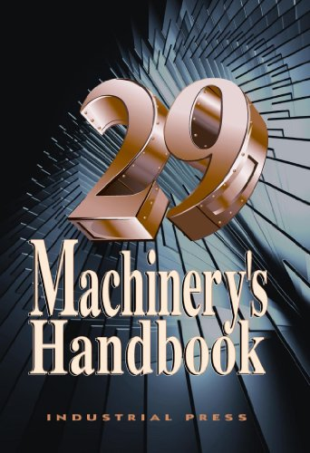 Machinery's Handbook 29th Edition CD-ROM and Large Print Set  29th edition cover