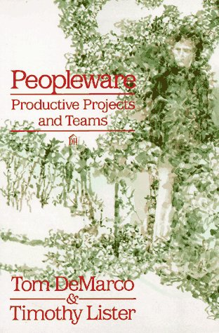 Peopleware Productive Projects and Teams  1987 edition cover