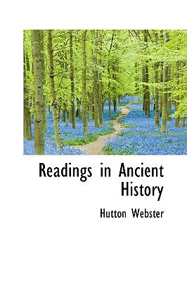 Readings in Ancient History:   2009 edition cover