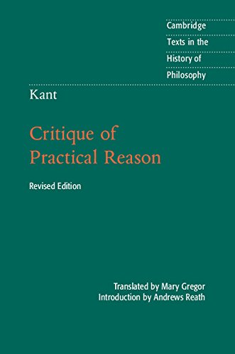 Kant: Critique of Practical Reason  2nd 2014 (Revised) 9781107467057 Front Cover
