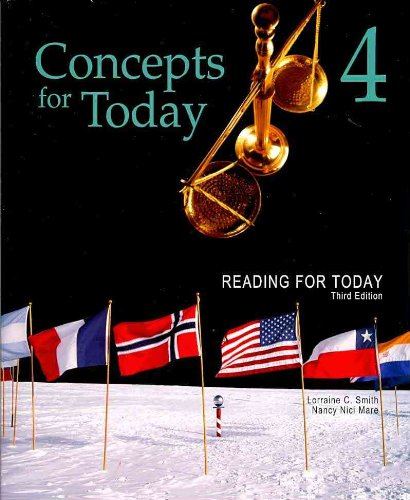 Concepts for Today - Reading for Today  3rd 2011 edition cover