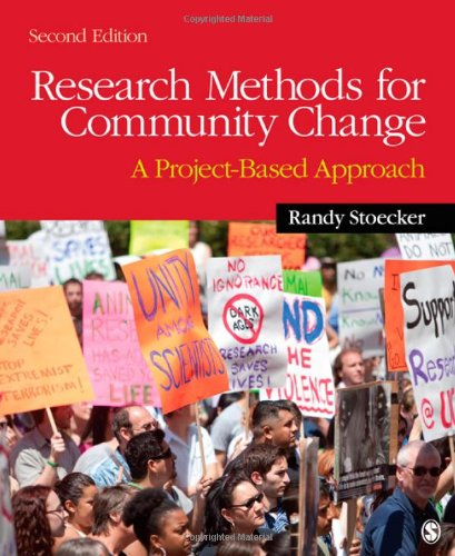 Research Methods for Community Change A Project-Based Approach 2nd 2013 edition cover