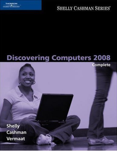 Discovering Computers 2008   2008 edition cover