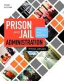 Prison and Jail Administration: Practice and Theory  3rd 2014 edition cover