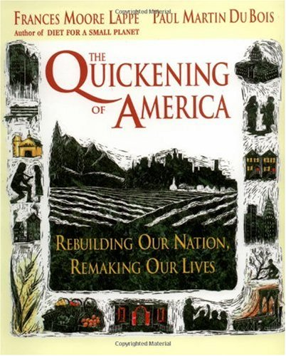 Quickening of America Rebuilding Our Nation, Remaking Our Lives  1994 edition cover