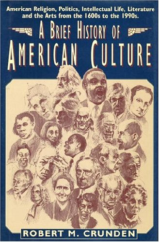 Brief History of American Culture   1998 edition cover