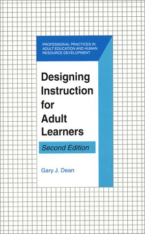 Designing Instruction for Adult Learners  2nd 2002 edition cover