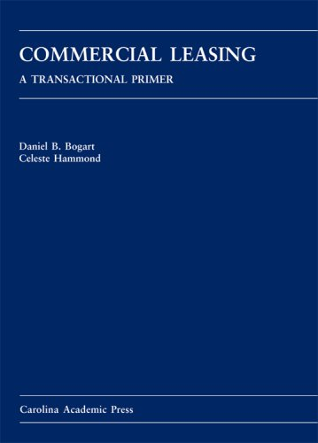 Commercial Leasing A Transactional Primer  2007 edition cover