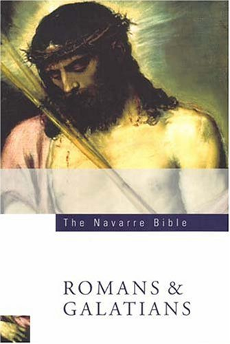 Navarre Bible Romans and Galatians 2nd 2005 (Revised) edition cover