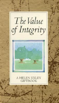 Value of Integrity   2002 9781861873057 Front Cover