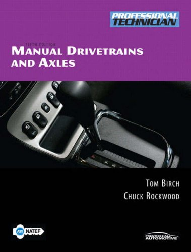 Manual Drivetrains and Axles  5th 2008 edition cover