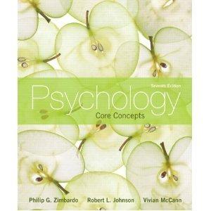 Psychology Core Concepts, Books a la Carte Edition 7th 2012 edition cover
