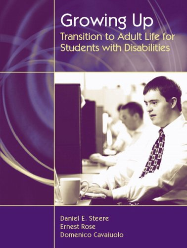 Growing Up Transition to Adult Life for Students with Disabilities  2007 9780205442058 Front Cover