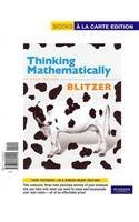 Thinking Mathematically  5th 2011 edition cover