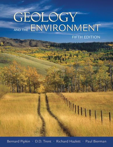 Geology and the Environment  5th 2008 edition cover