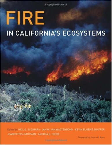 Fire in California's Ecosystems   2006 edition cover