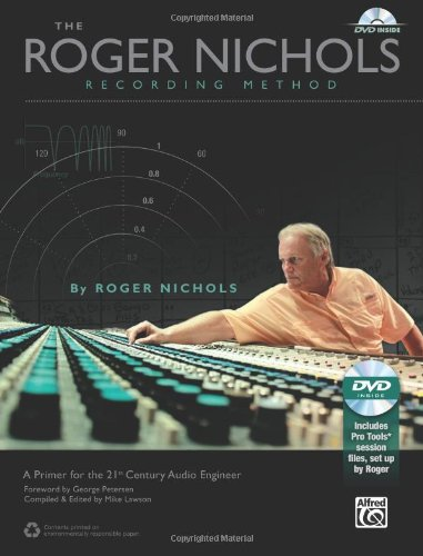 Roger Nichols Recording Method Book and DVD-ROM  2013 edition cover