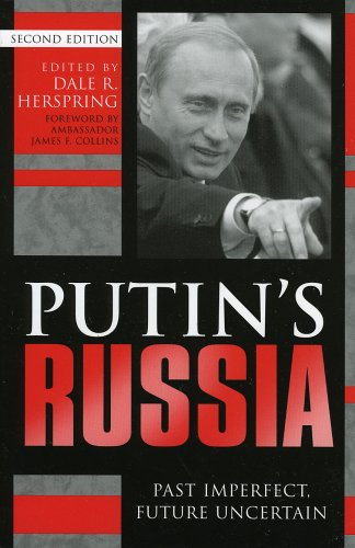 Putin's Russia Past Imperfect, Future Uncertain 2nd 2004 (Revised) 9780742530058 Front Cover