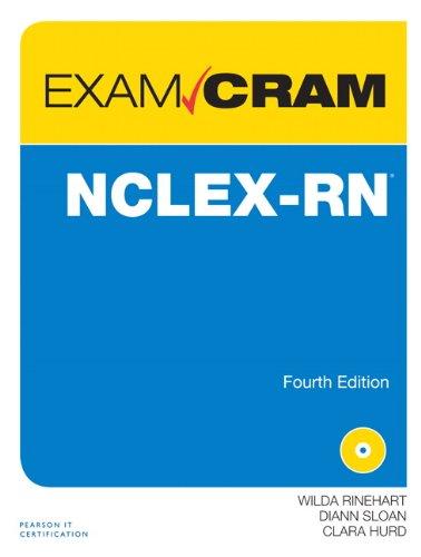 NCLEX-RN Exam Cram:   2013 edition cover
