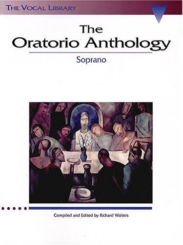 Oratorio Anthology Soprano N/A edition cover