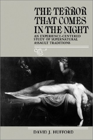 Terror That Comes in the Night An Experience-Centered Study of Supernatural Assault Traditions  1983 edition cover