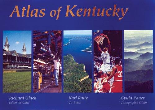 Atlas of Kentucky   1998 edition cover