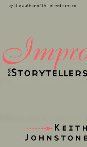 Impro for Storytellers   1999 edition cover
