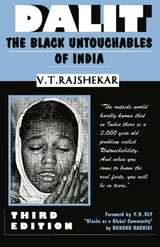 Dalit The Black Untouchables of India  1995 9780932863058 Front Cover