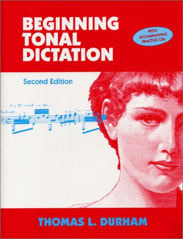Beginning Tonal Dictation   2004 edition cover