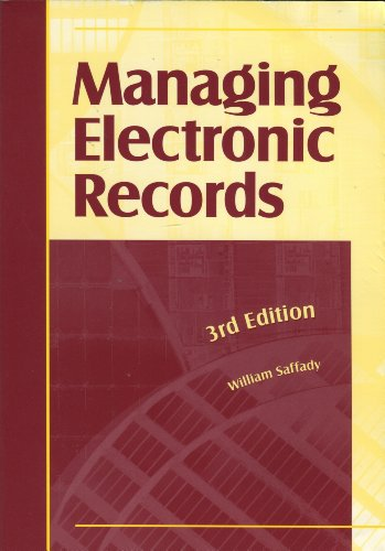 Managing Electronic Records 3rd 2002 edition cover