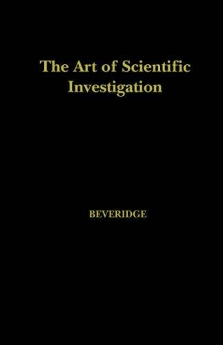 Art of Scientific Investigation  2005 edition cover