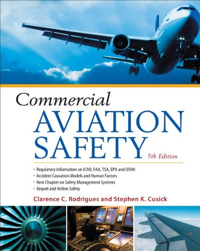 Commercial Aviation Safety  5th 2012 edition cover