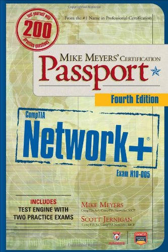 CompTIA Network+  4th 2012 edition cover