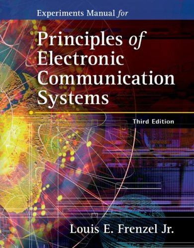 Principles of Electronic Communication Systems  3rd 2008 edition cover