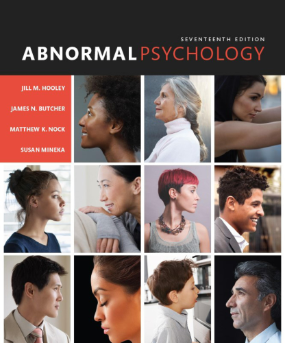 Abnormal Psychology: 17th 2016 9780133852059 Front Cover
