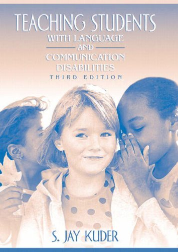 Teaching Students with Language and Communication Disabilities  3rd 2008 edition cover
